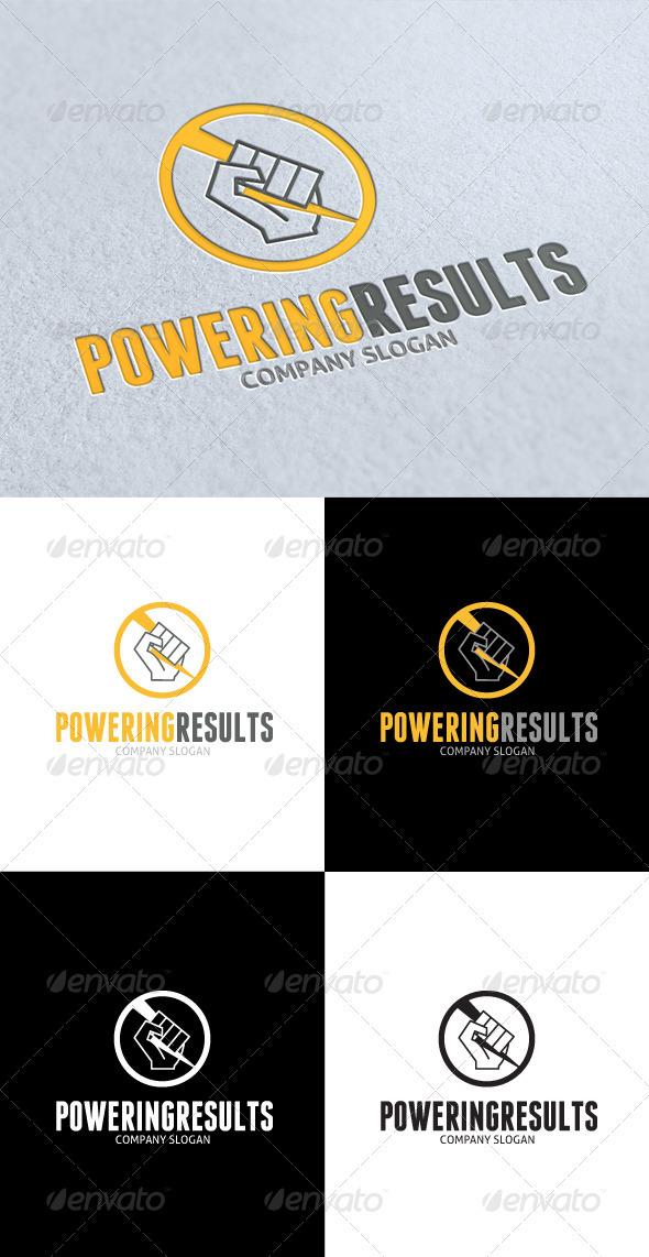 GraphicRiver Powering Results Logo 3319130
