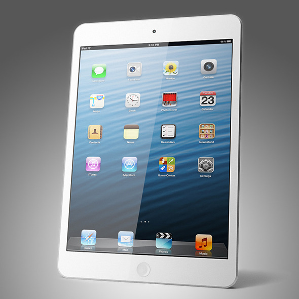 Apple iPad mini - 3DOcean Item for Sale