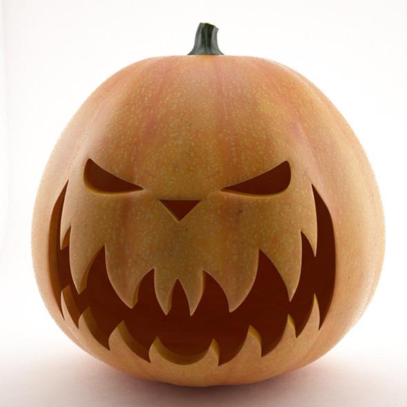 3DOcean Halloween Pumpkin 3319740