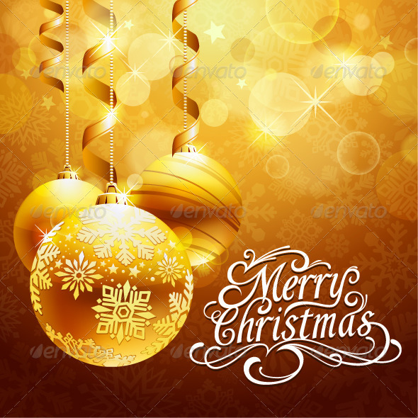GraphicRiver Christmas background 3319853