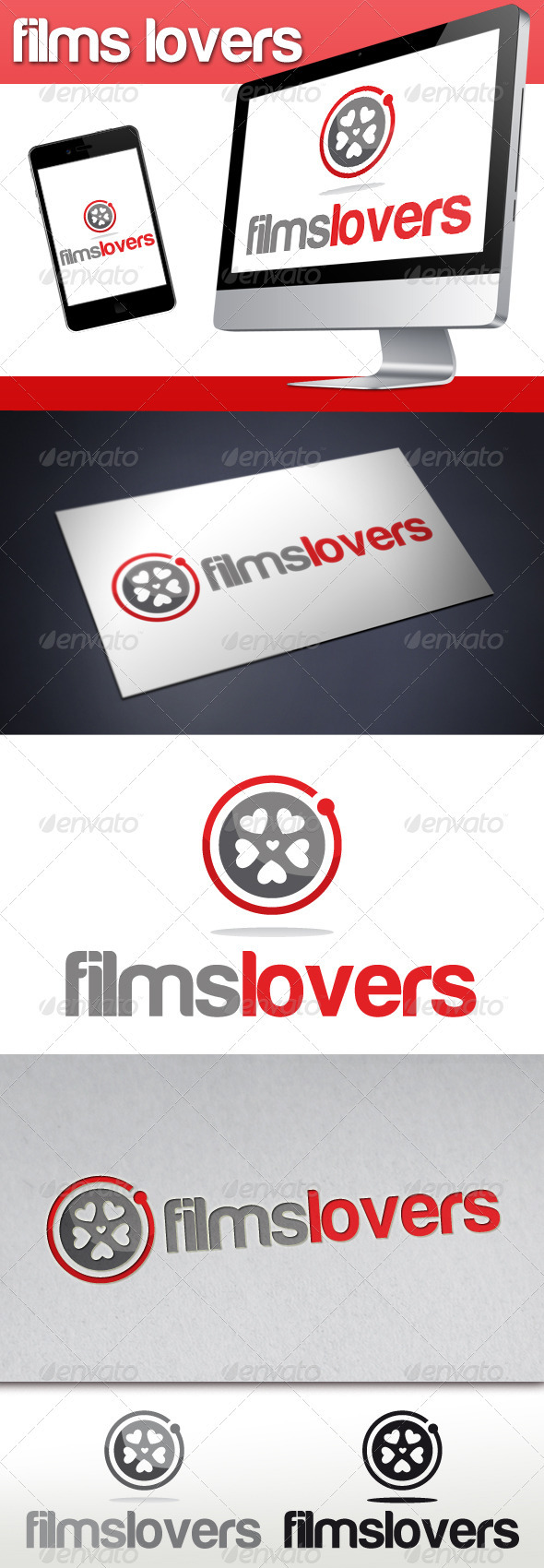 GraphicRiver Films Lovers Logo 3319863