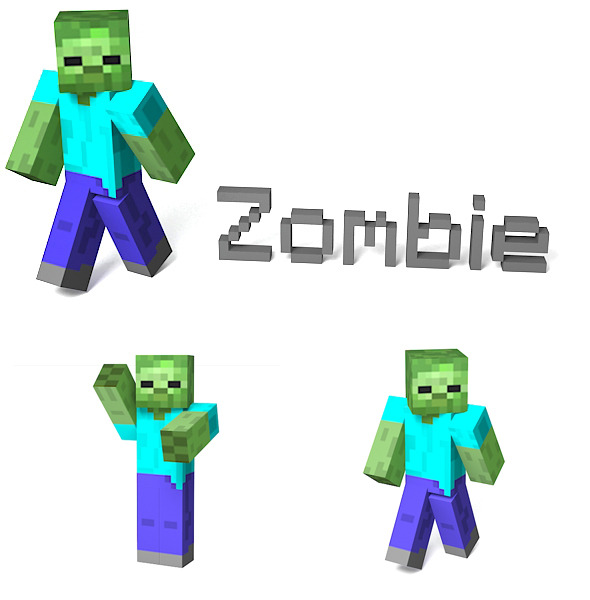3DOcean Zombie 2907755
