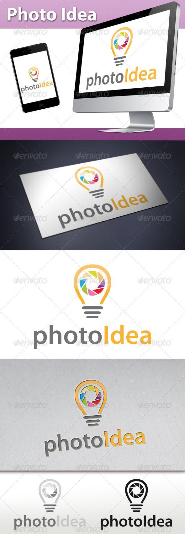 GraphicRiver Photo Idea Logo 3320235