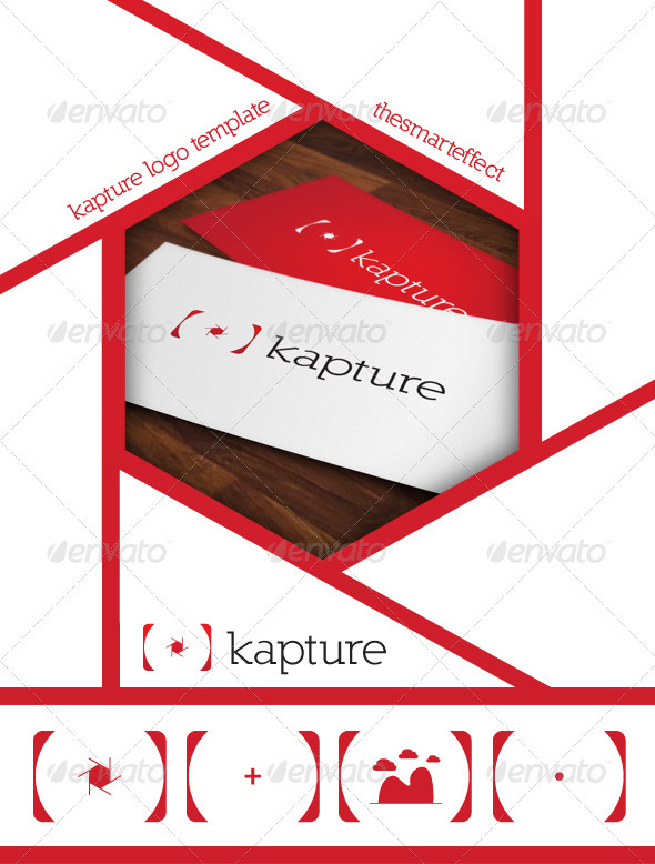 GraphicRiver Kapture Logo Template 3320382
