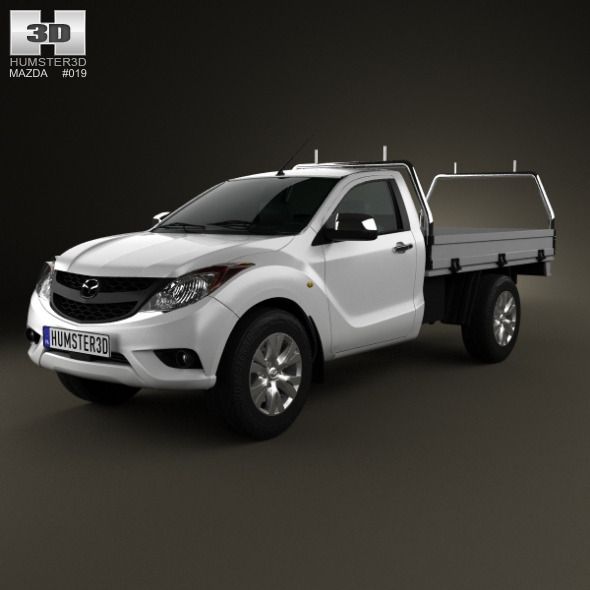 3DOcean Mazda BT-50 Single Cab 2012 3320910