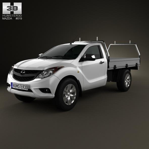 Mazda BT-50 Single Cab 2012 - 3DOcean Item for Sale