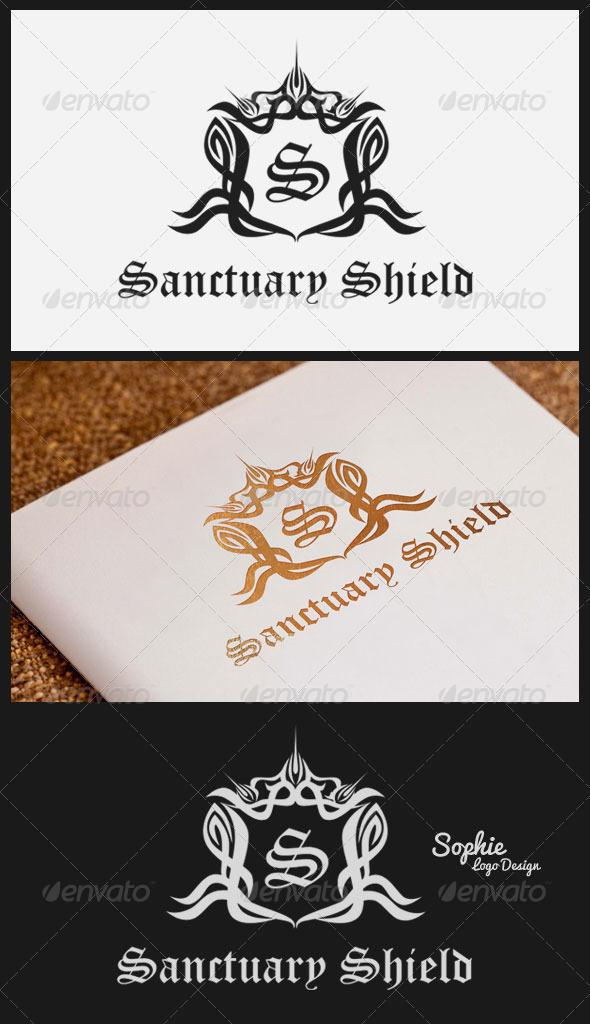 GraphicRiver Sanctuary Shield Logo Template 3320920