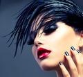 Fashion Art Girl Portrait. Punk Style - PhotoDune Item for Sale