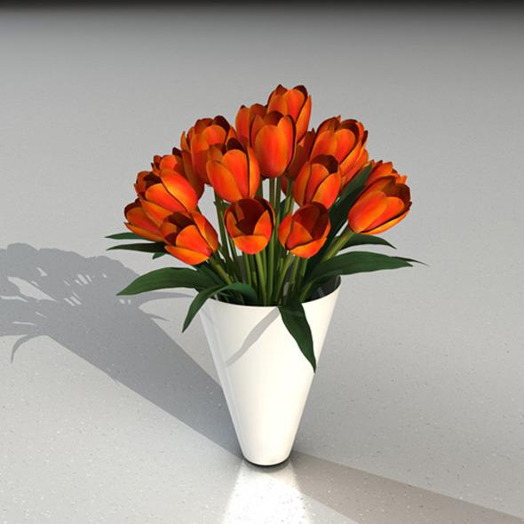 3DOcean tulips 3321333
