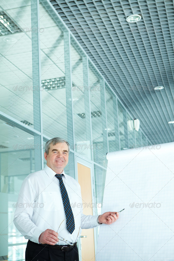 Senior teacher - Stock Photo - Images