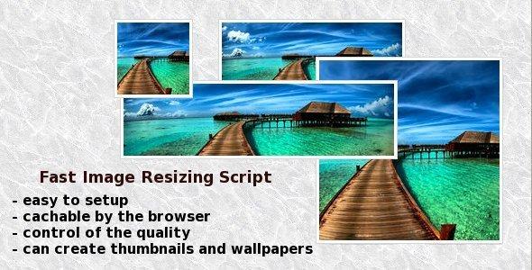 CodeCanyon Fast Image Resizing Script 2310602