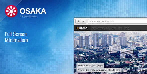 ThemeForest Osaka WP 2950247