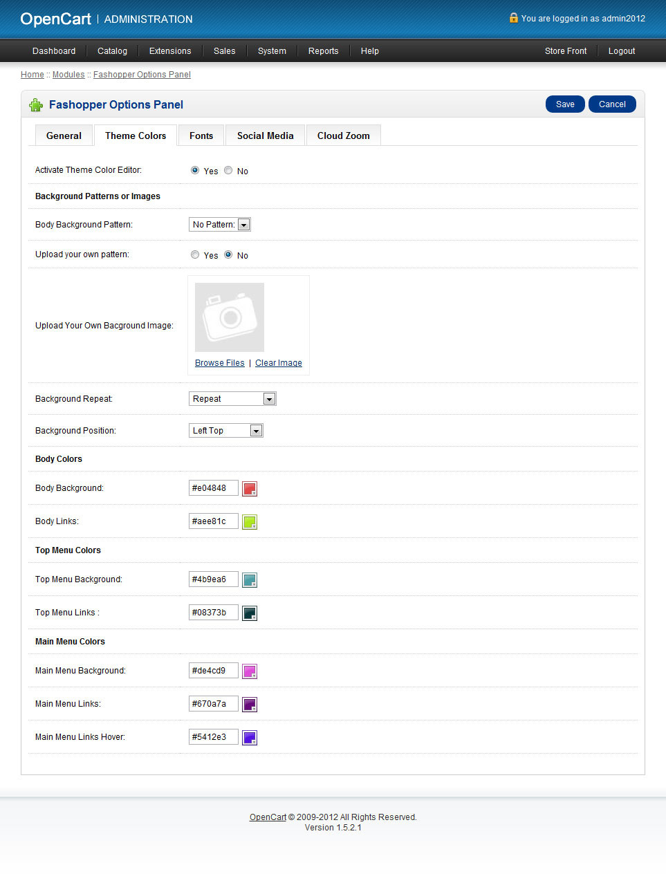 Fashopper - Premium OpenCart Theme