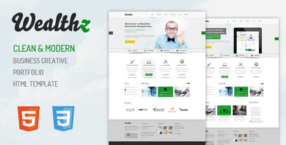 Wealthz HTML Responsive Template