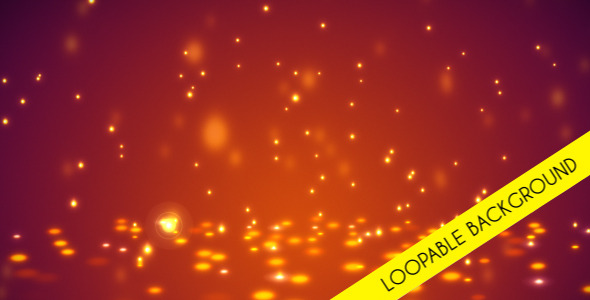Particles Loopable Background