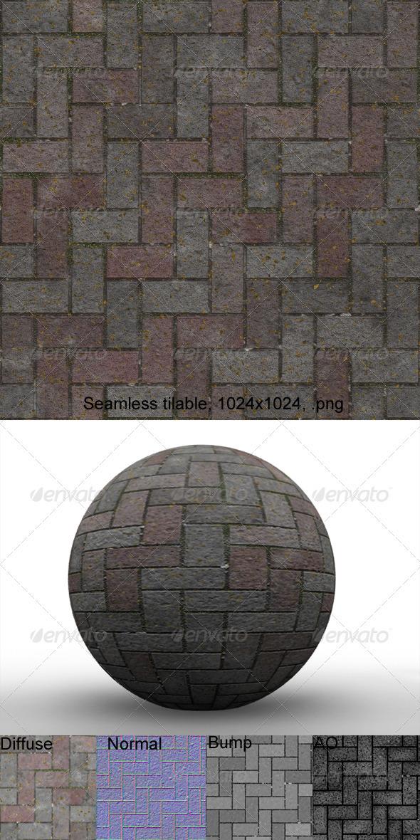 3DOcean Pavement 4 3201443