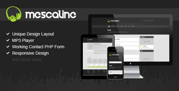 ThemeForest Mescaline It s All About Music 3322988