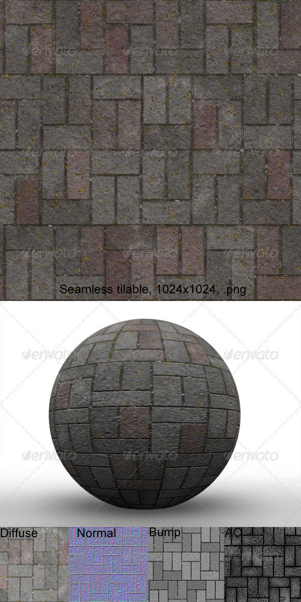3DOcean Pavement 6 3201690