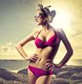 Fuchsia Swimsuit - PhotoDune Item for Sale