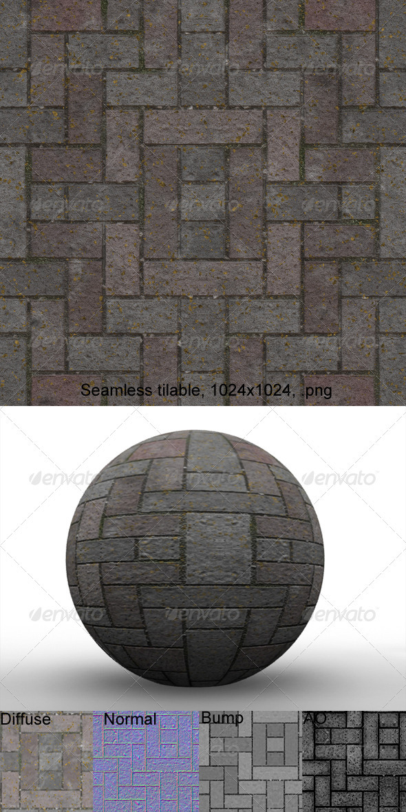3DOcean Pavement 11 3203262