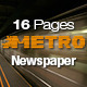 16 Pages Metro Newspaper - GraphicRiver Item for Sale