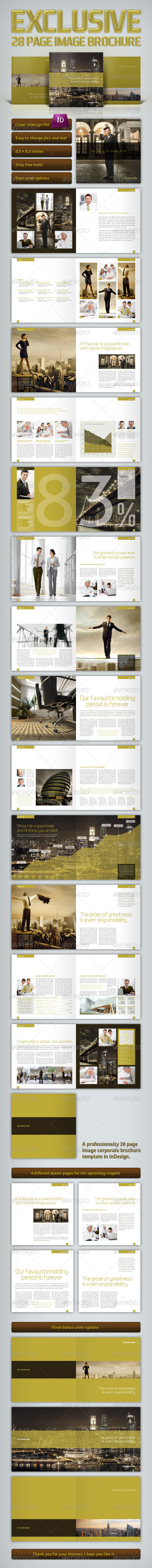 GraphicRiver Exclusive Brochure 3208734