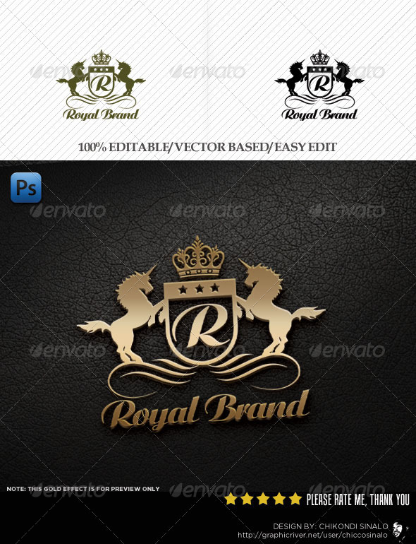 Royal Brand Logo Template - Abstract Logo Templates