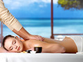 Relaxing woman having spa massage - PhotoDune Item for Sale