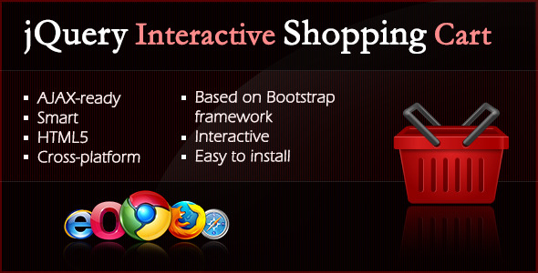 CodeCanyon jQuery Interactive Shopping Cart 3324862