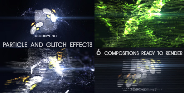 Particle Effect 7 Elegant style and Glitch FX
