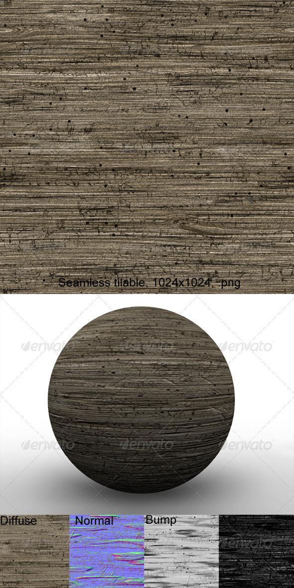 3DOcean Rough Wood 4 3203566
