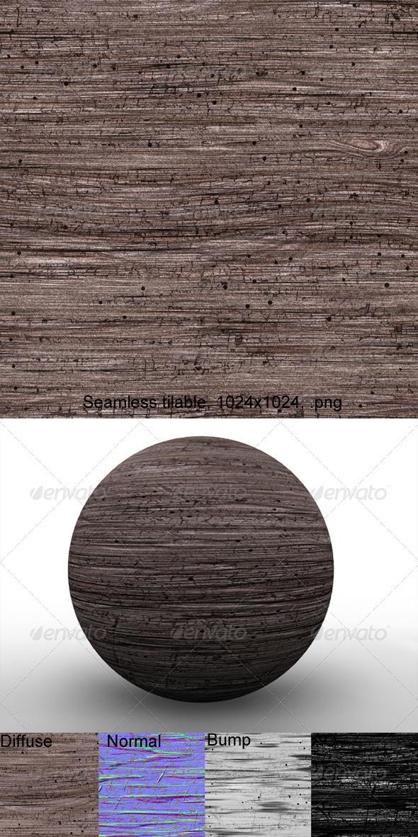 3DOcean Rough Wood 5 3203591