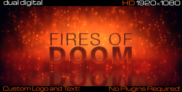 After Effects Project - VideoHive Fires of Doom 3325648