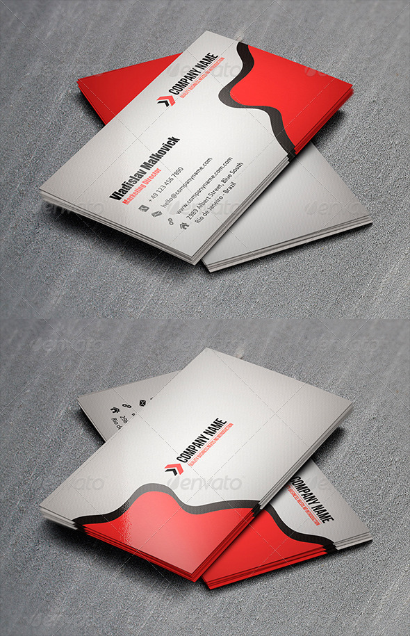 GraphicRiver Corporate Business Card 10 3325745