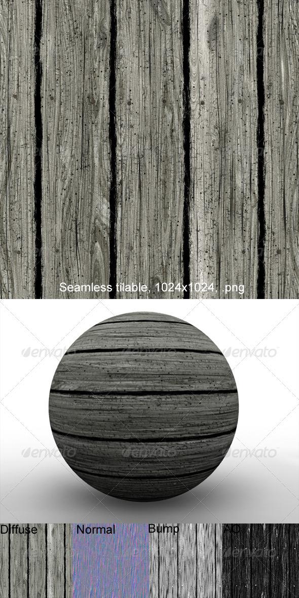 3DOcean Rough Planks 1 2873678