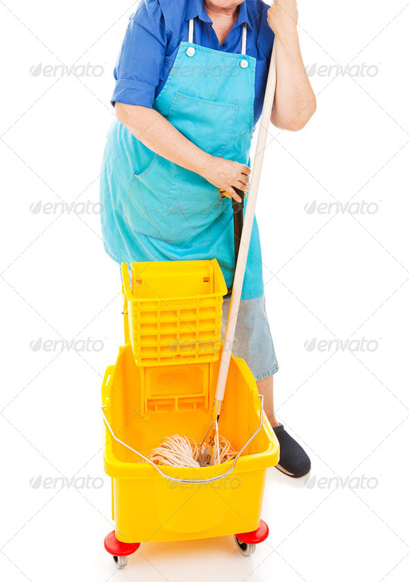Mopping Up - Stock Photo - Images