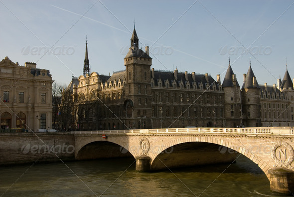 River Seine - Stock Photo - Images