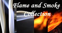 Flame And Smoke Abstract