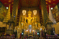Front of Thai Lanna style Big Gold Buddha image - PhotoDune Item for Sale