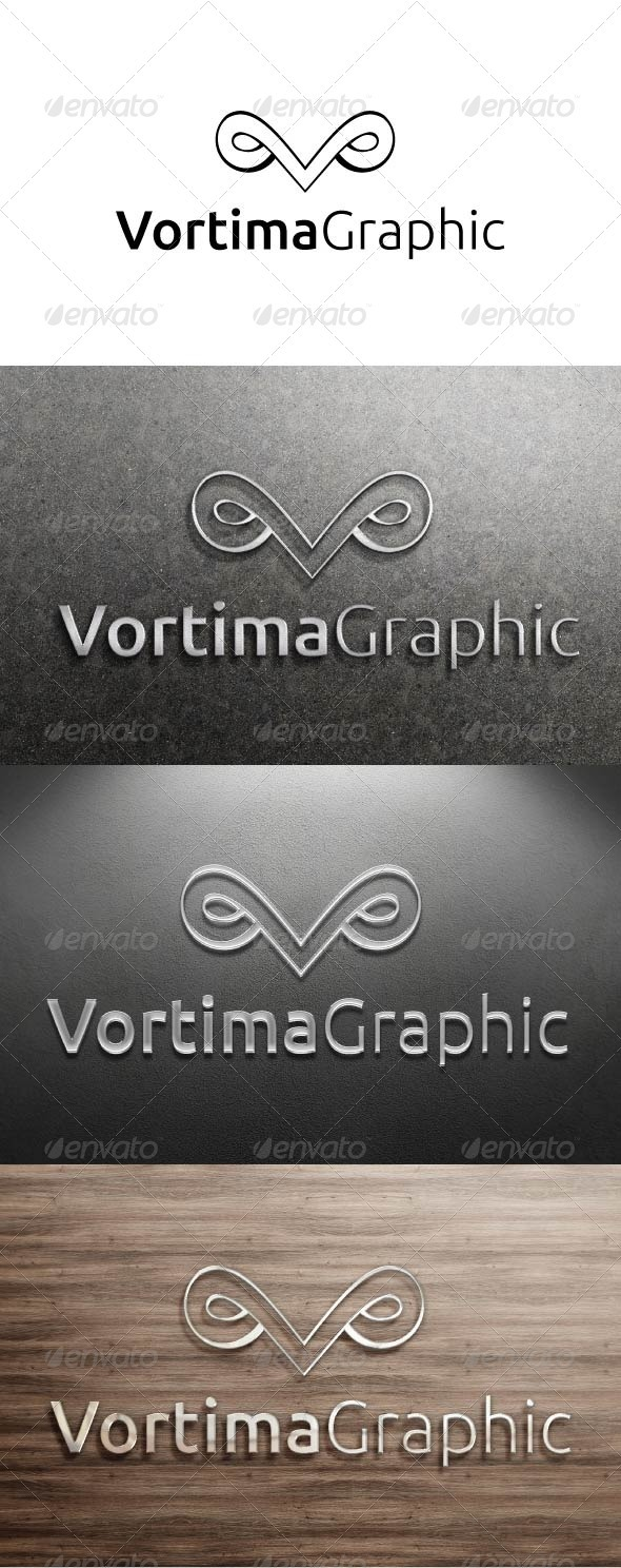 GraphicRiver Vortima Graphic Logo 3326280