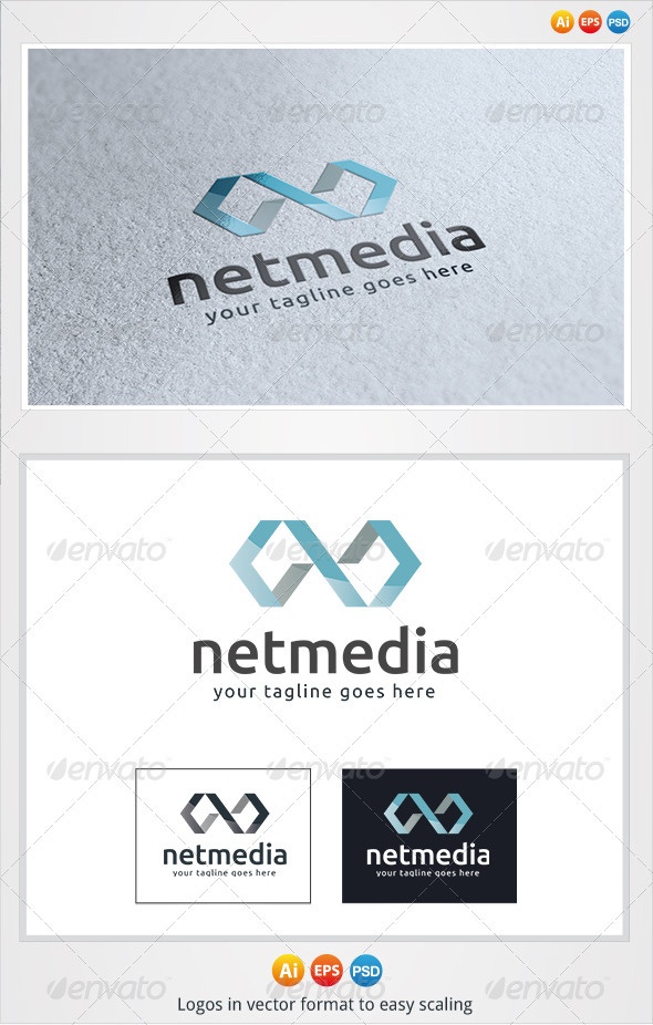 GraphicRiver Net Media Logo 3326367