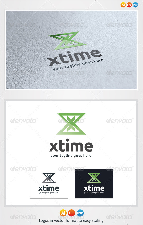 GraphicRiver X Time Logo 3326468