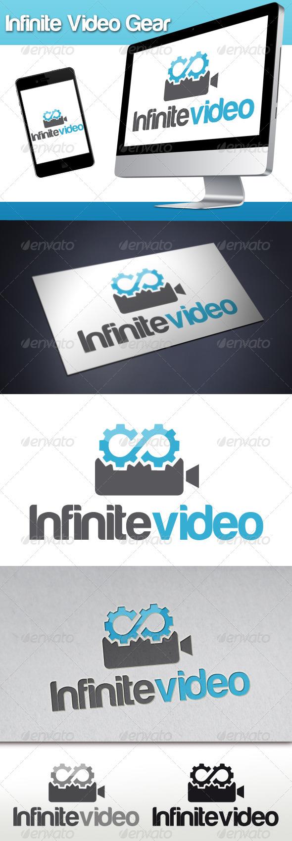 GraphicRiver Infinite Video Gear Logo 3315195