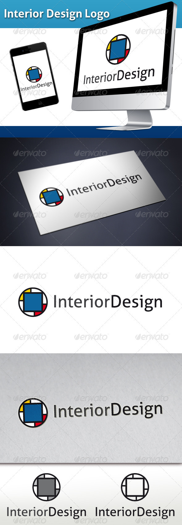 GraphicRiver Interior Design Logo 3315258