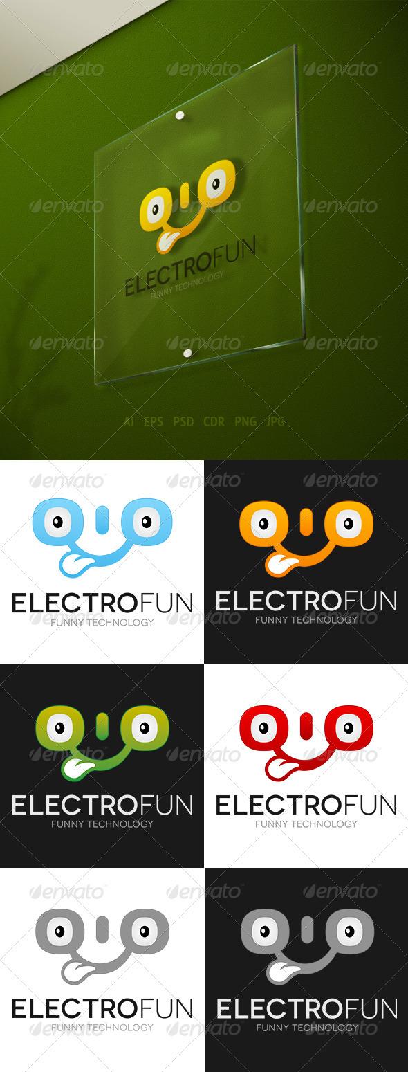 GraphicRiver Electrofun Logo 3327521