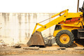 Wheel loader machine  on the road - PhotoDune Item for Sale