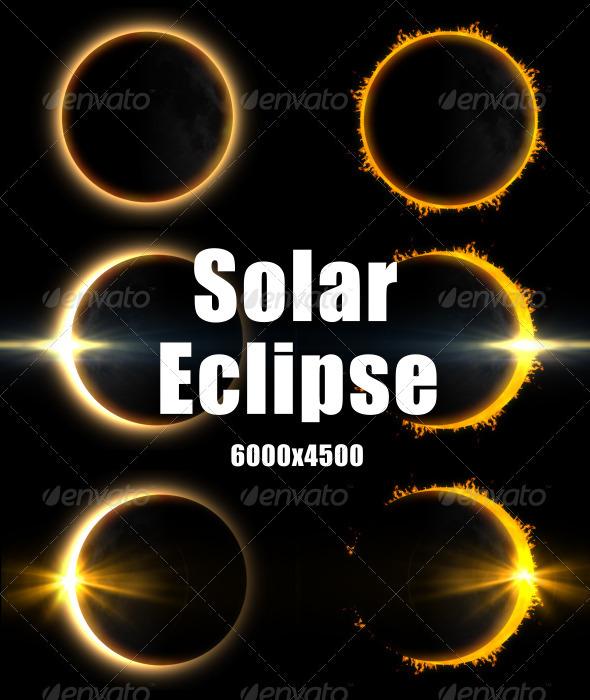 GraphicRiver Solar Eclipse 3327524