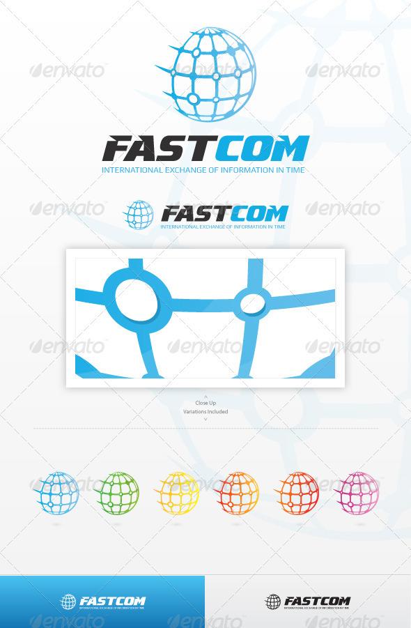 GraphicRiver Fast Com Logo 3327528