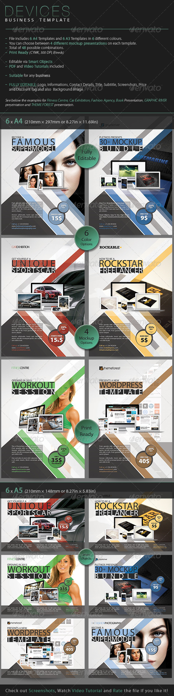GraphicRiver Devices Business Template 3327569