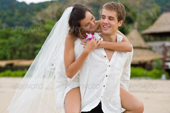 PhotoDune Beach Wedding 348483